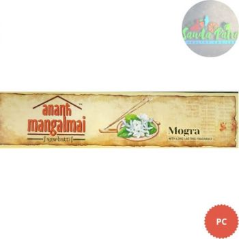 Ananth Mangalami Mogra Incense Sticks-40gm, 1N