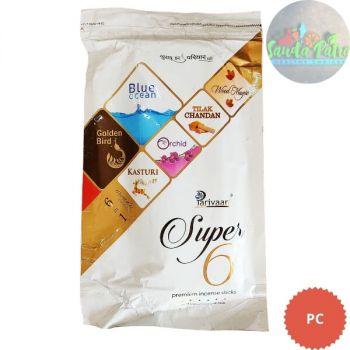 Parivaar Super 6 Premium Incense Sticks, 300gm