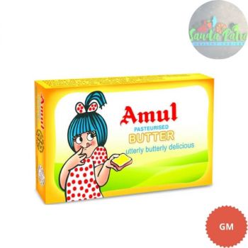 Amul Butter Pasteurised, 100gm