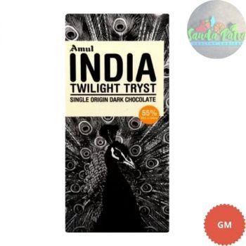 Amul India Origin Dark Chocolate, 125gm