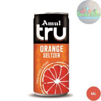 Amul tru Orange Seltzer, 300mll