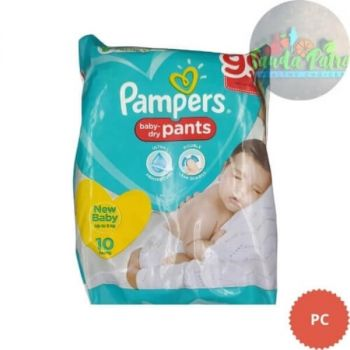 Pampers Pant Style Diapers New Baby, 09 Pants