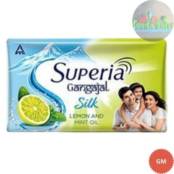 Superia Gangajal Silk Lemon & Mint Oil Soap Buy 3 + Get 1 Free