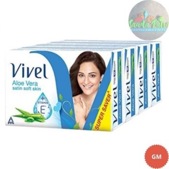 Vivel Aloe Vera Bathing Bar, 100gm