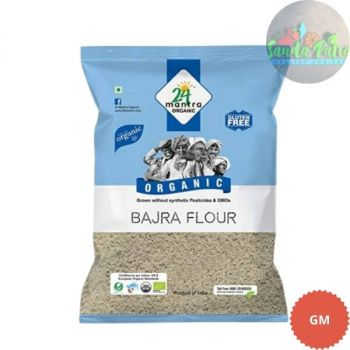 24 Mantra Organic - Bajra Flour, 500 gm