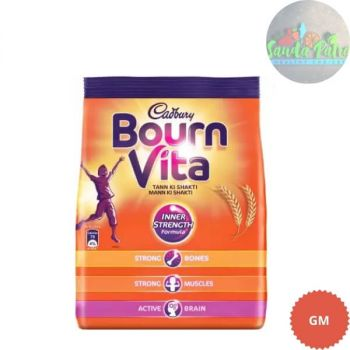 Cadbury Bournvita Health Drink Pouch RS - 5 (Pack of four)