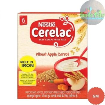Nestle Stage 1 Cerelac (Wheat Apple Carrot) , 300gm