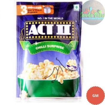 Act II Instant Popcorn, Chilli Surprise, 40gm
