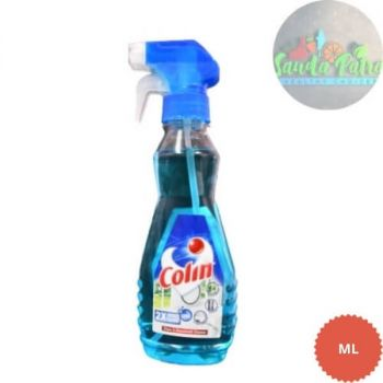 Colin Glass Cleaner Pump 2X More Shine with Shine Boosters, 125ml