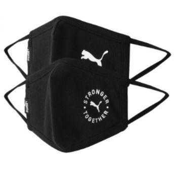 Puma Washable Cloth Face Mask, Pack of 2