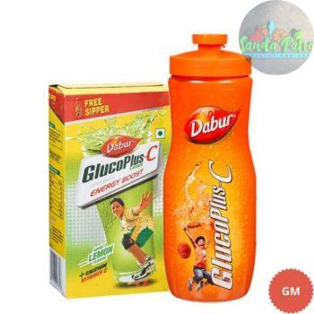 Dabur Gluco Plus C Lemon, 500gm Get Sipper Free