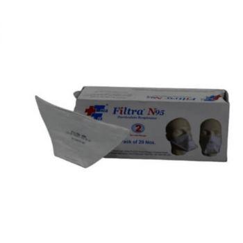 Filtra Duckbill Shape N95 Mask, 1N