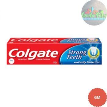 Colgate Toothpaste Strong Teeth Dental Cream, 200gm