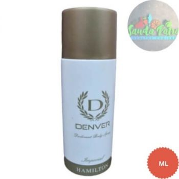Denver Hamilton Imperial Deodorant Body Spray, 165ml