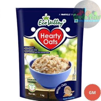 Eco Valley Hearty White Oats, 1kg