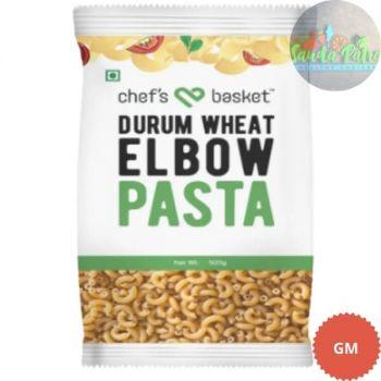 CHEF'S BASKET Durum Wheat Elbow Pasta, 500gm