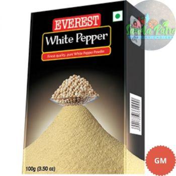 Everest White Pepper Powder, 50gm