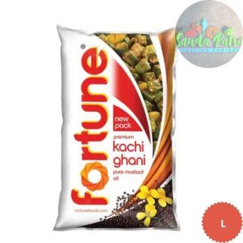 Fortune Kachi Ghani Mustard Oil, 1ltr
