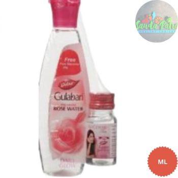 Dabur Gulabari Premium Rose Water, 120ml with a Glycerine 25gm Free