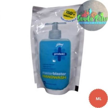 Godrej Protekt Masterblaster Germ Protection Liquid Handwash, 180gm Refill