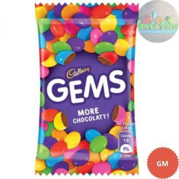 Cadbury Gems Chocolate Pack, 28gm