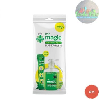Godrej Protekt Magic Powder To Liquid Handwash,  1 Sachet : 1U of 9gm