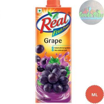 Dabur Real Grape Juice, 1ltr