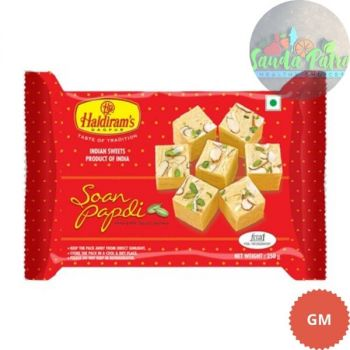 Haldiram's Nagpur Soanpapdi, Regular, 250gm