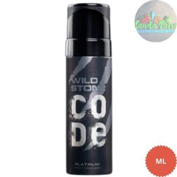 Wild Stone Code Platinum Body Perfume Spray for Men, 120ml