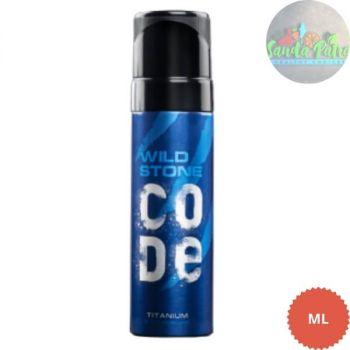 Wild Stone Code Titanium Body Perfume Spray for Men, 120ml
