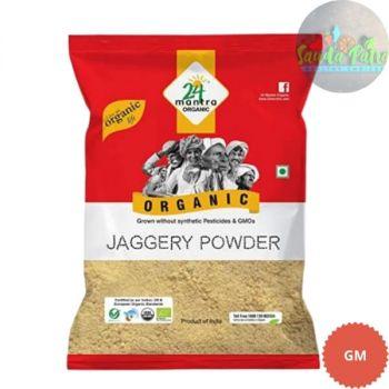 24 Mantra Organic - Jaggery Powder, 500gm