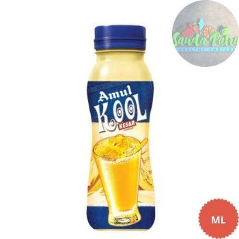 Amul Kool Premium Kesar Flavoured Milk, 200ml