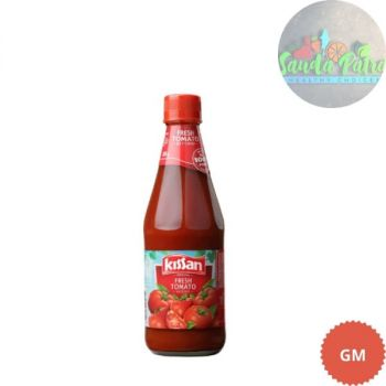 Kissan Fresh Tomato Ketchup Bottle, 200gm