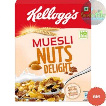 Kellogg's Muesli 20% Nuts Delight, 500gm