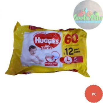 Huggies Dry Pants Bubble Wala, Large Size Diapers, 5 Count