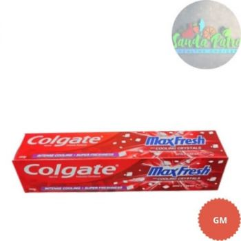Colgate MaxFresh Toothpaste, Red Gel Paste with Menthol for Super Fresh Breath, 150gm