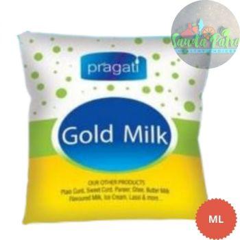 Pragati Gold Cow Milk, 500 ml