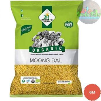 24 Mantra Organic - Yellow Moong Dal, 500gm