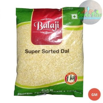 Balaji Yellow Moong Dal (Muga Dali), 1kg