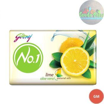Godrej No.1 Lime and Alover Soap Buy 3 Get 1 Free 45x4 - 180gm