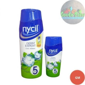 Nycil Germ Expert Prickly Heat Powder Cool Classic, 150gm With Nycil Cool Herbal Powder 50gm FREE