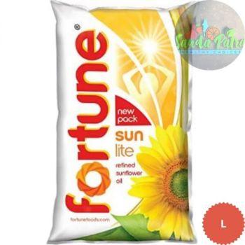 Fortune Sunlight Refined Sunflower Oil, 1ltr