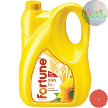 Fortune Sun Lite Refined Sunflower Oil, 5 L