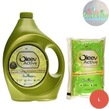 Oleev Active Blended Edible Vegitable Oil, 5ltr With Oleeve Active 1ltr Free Worth - 265