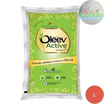 Oleev Active Blended Edible Vegitable Oil, 1ltr