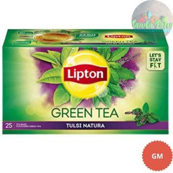 Lipton Tulsi Natura Green Tea Bags, 25s
