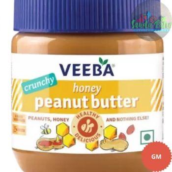 Veeba Crunchy Honey Peanut Butter, 340gm