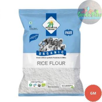 24 Mantra Organic - Rice Flour, 500 gm
