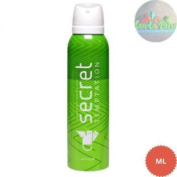 Secrate Temptation Affair Deodorant for Women, 150 ml