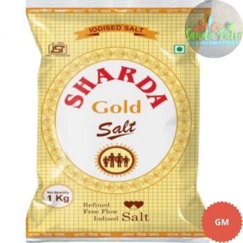 Sharda Gold Iodised Salt, 1kg